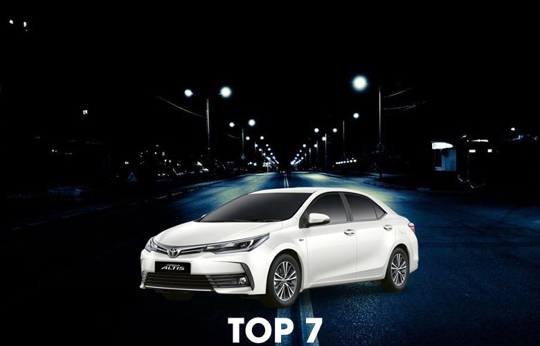 Xe Toyota Altis bán chạy nhất 10 năm vừa qua