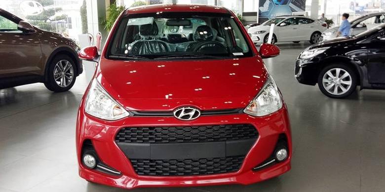 Phần đầu xe hyundai i10 2019