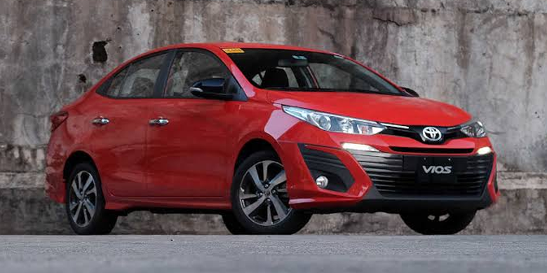Toyota Vios 2019 ngoại hình