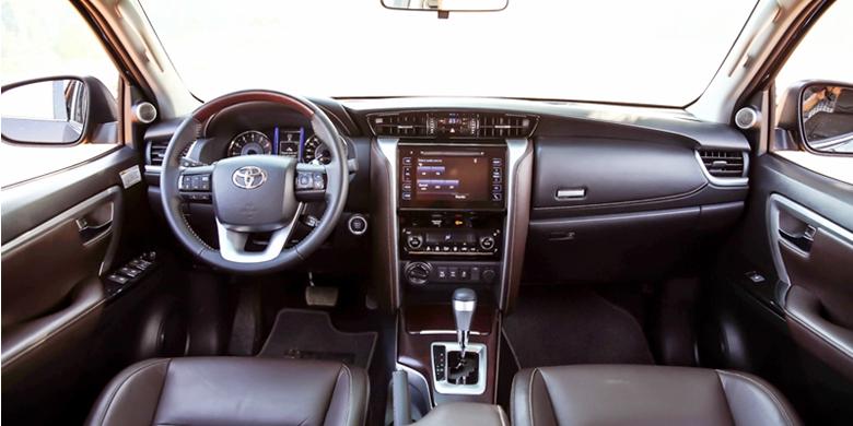 Toyota Fortuner 2019 nội thất