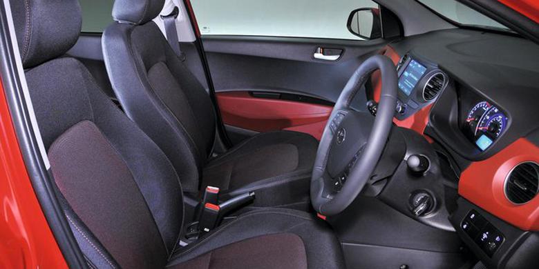 Phần nội thất Hyundai i10 2019