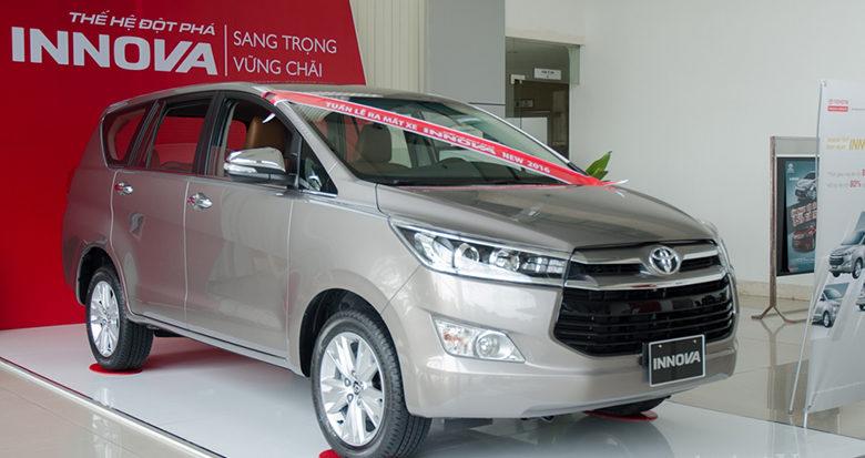 Cách nhận biết các dòng đời xe Toyota Innova - 9