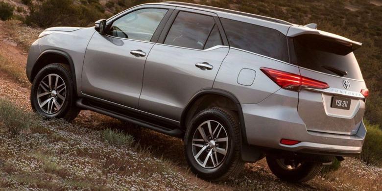 Toyota Fortuner 2019 an toàn