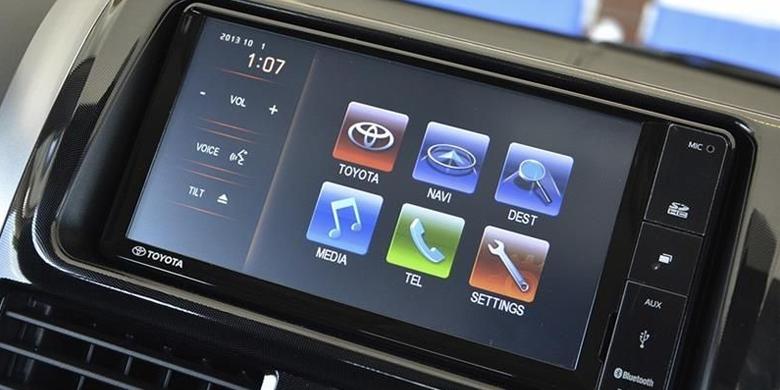 Toyota Vios màn hình