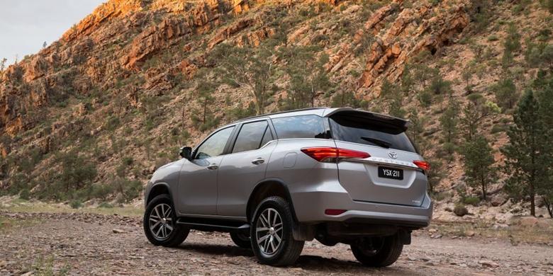 Toyota Fortuner 2019 ngoại thất