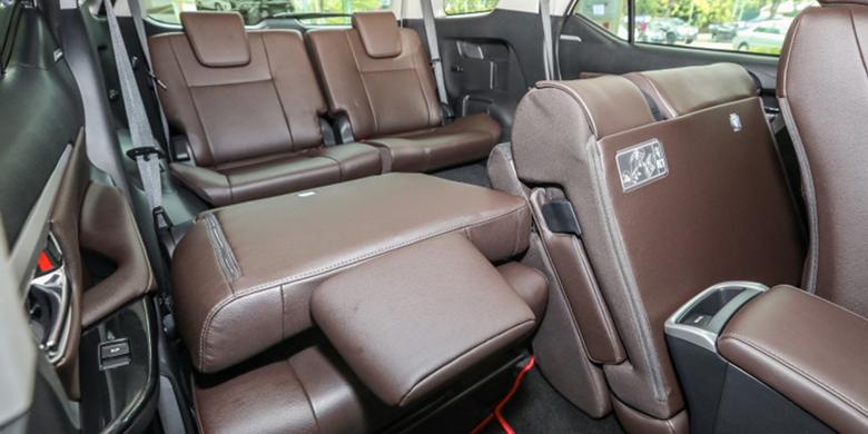 Toyota Fortuner 2019 ghế ngồi
