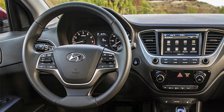Vô lăng xe Hyundai Accent 2019