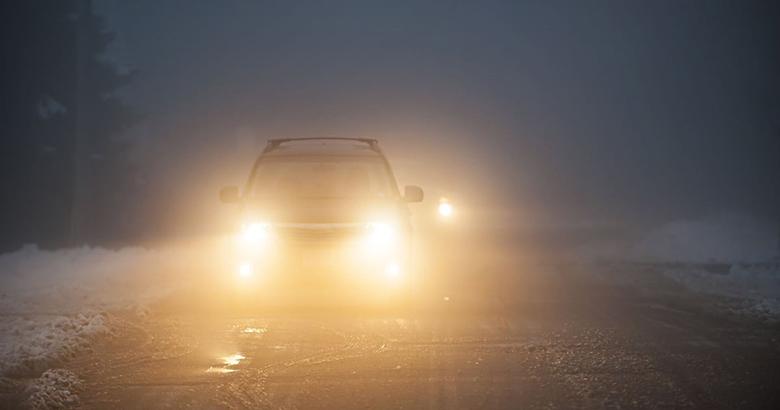 Kinh nghiệm lái xe đường sương mù cho tài mới - 7