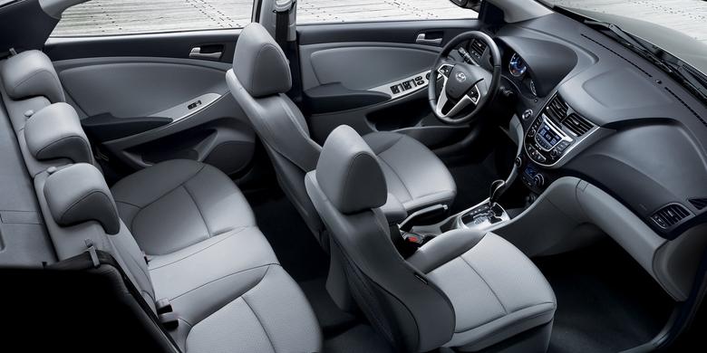 Hyundai Accent 2019 nội thất