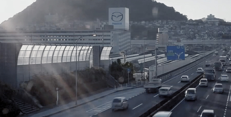 Hình ảnh công ty Mazda tại Nhật Bản