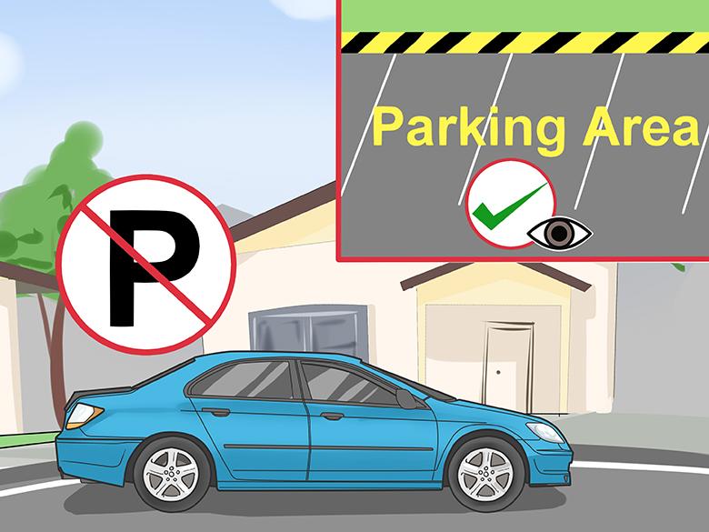 chú ý quy định đỗ xe