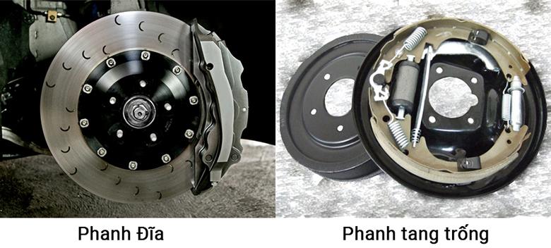 Hệ thống phanh đĩa và phanh tang trống trên ô tô bạn cần biết - 2