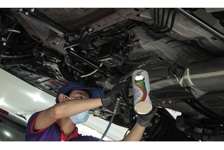 dịch vụ sơn xe ô tô công nghệ cao tại Anycar - 5