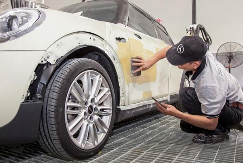 dịch vụ sơn xe ô tô công nghệ cao tại Anycar  - 2