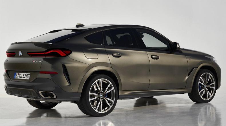 Thân xe BMW X6 2020