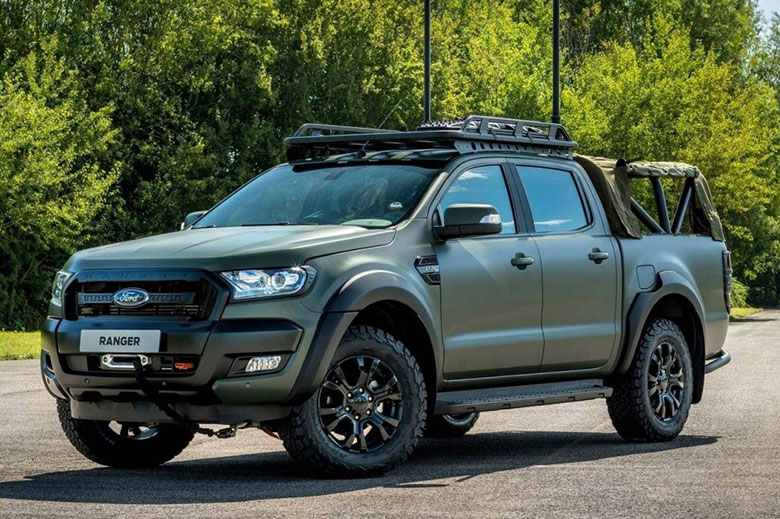 Gợi ý độ Ford Ranger đẹp cho tín đồ offroad - 1