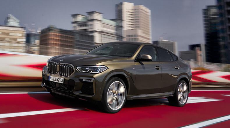 Khả năng vận hành BMW X6 2020