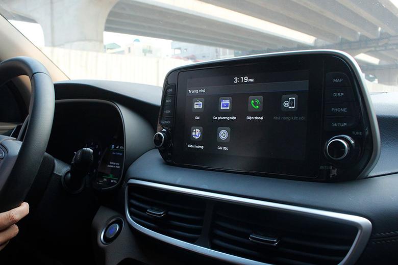 Đánh giá Hyundai Tucson 2020 về tiện nghi
