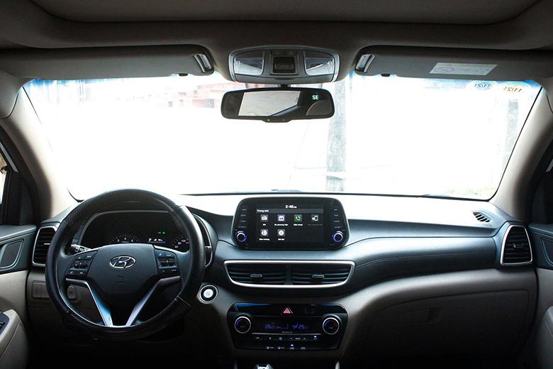 Nội thất xe Hyundai Tucson 2020