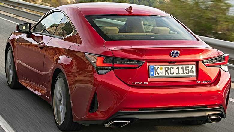 Lexus RC 300 2020 chính hãng, giá xe và nội ngoại thất - 6