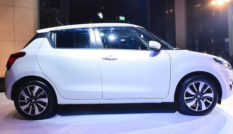 Đánh giá thân xe Suzuki Swift 2020