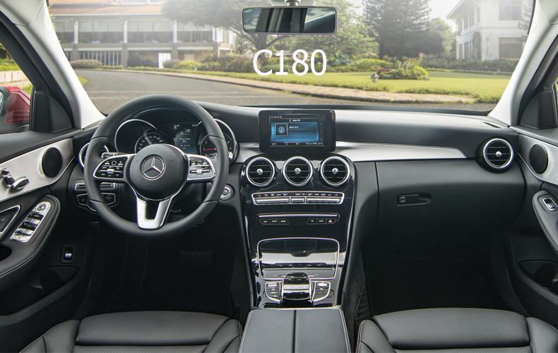 So sánh xe Mercedes-Benz C 180 2020 và C 200 Exclusive 2020: Giá lăn bánh và khuyến mãi tháng 7/2020 - 7