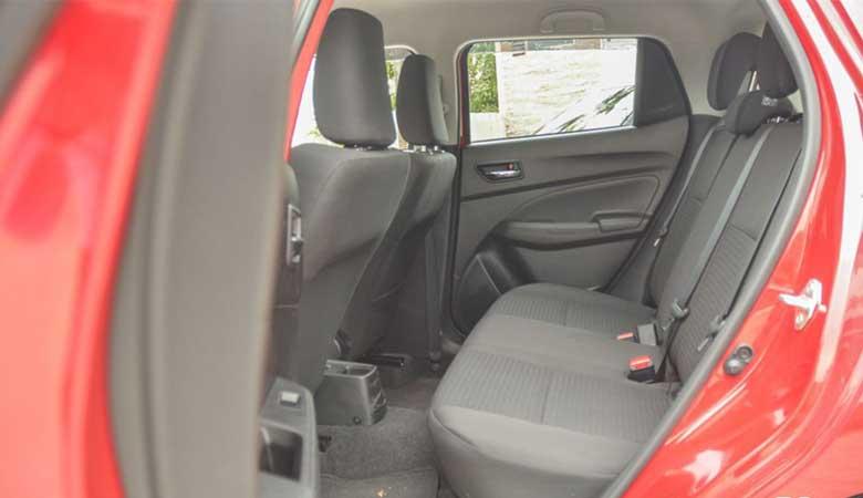 Đánh giá thiết kế ghế ngồi xe Suzuki Swift 2020