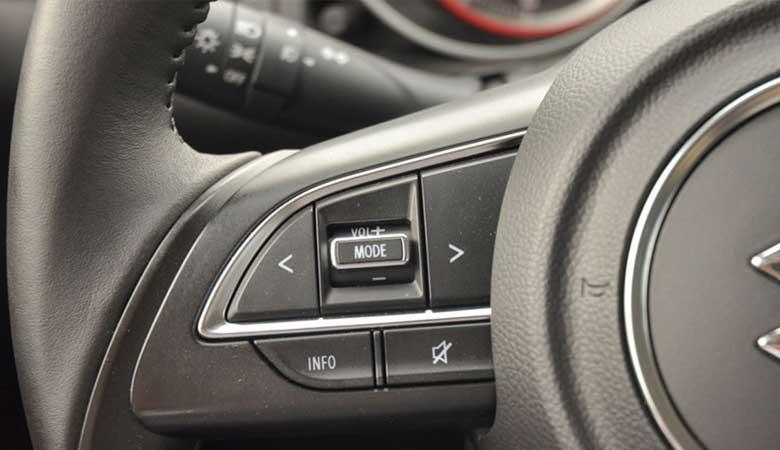 Đánh giá tiện nghi xe Suzuki Swift 2020