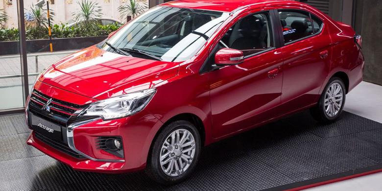 Mitsubishi Attrage 2020 hông xe