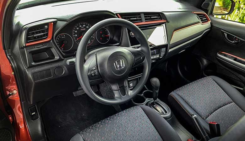 Đánh giá ghế ngồi xe Honda Brio 2020