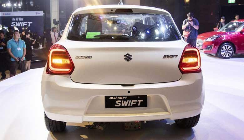 Đánh giá đuôi xe Suzuki Swift 2020