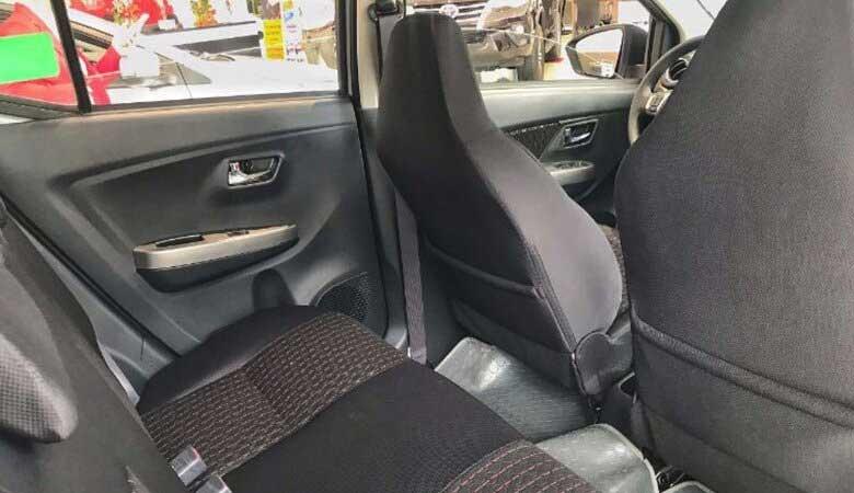 đánh giá ghế ngồi xe Toyota Wigo 2021