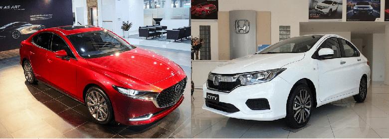 So sánh xe Mazda 3 2020 và Honda City 2020 - 1
