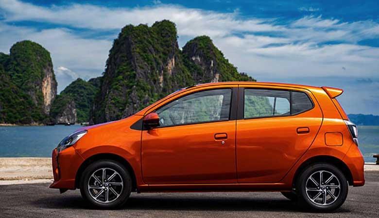 đánh giá phần thân xe Toyota Wigo 2021