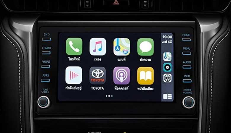 đánh giá tiện nghi xe Toyota Fortuner 2021