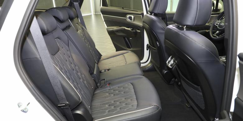 Kia Sorento 2021 khoang hành khách