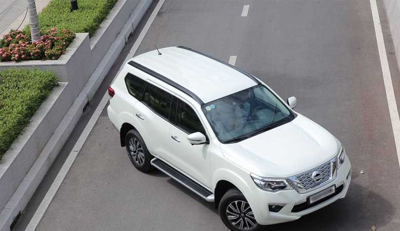 Đánh giá cảm giác lái xe Nissan Terra 2020