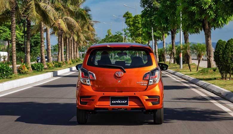 đánh giá đuôi xe Toyota Wigo 2021