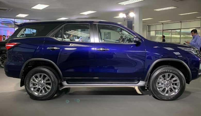 Đánh giá phần thân xe Toyota Fortuner 2021