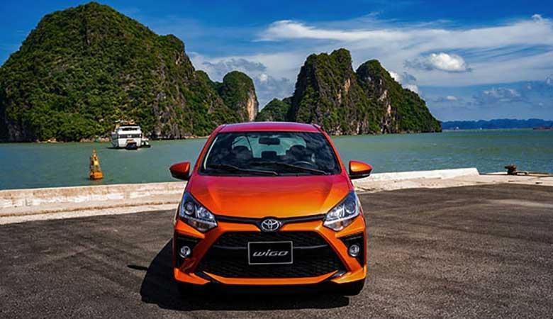 giá bán xe Toyota Wigo 2021