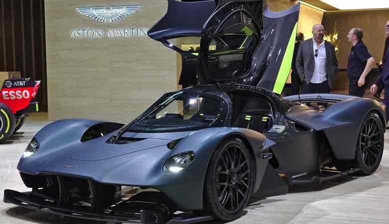 TOP 9. Giá: 3,2 triệu USD - Aston Martin Valkyrie