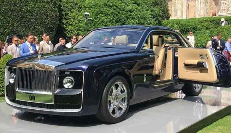 TOP 2. Giá 12,8 triệu USD - Rolls-Royce Sweptail