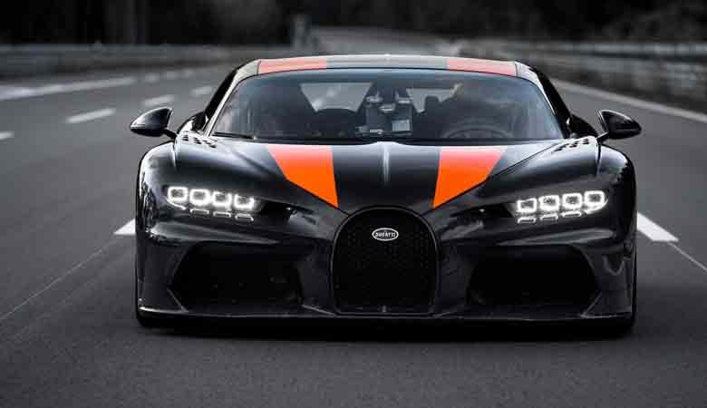 TOP 8. Giá: 3,3 triệu USD - Bugatti Chiron Sport