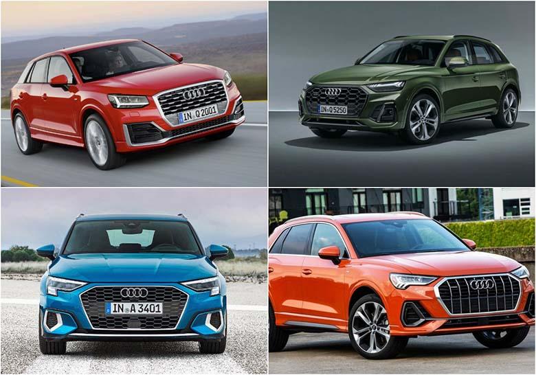 Cập nhật giá bán mẫu xe ô tô Audi mới nhất 2020 - 2