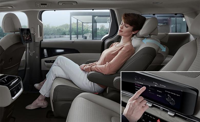 Đánh giá tiện nghi xe Sedona 2021