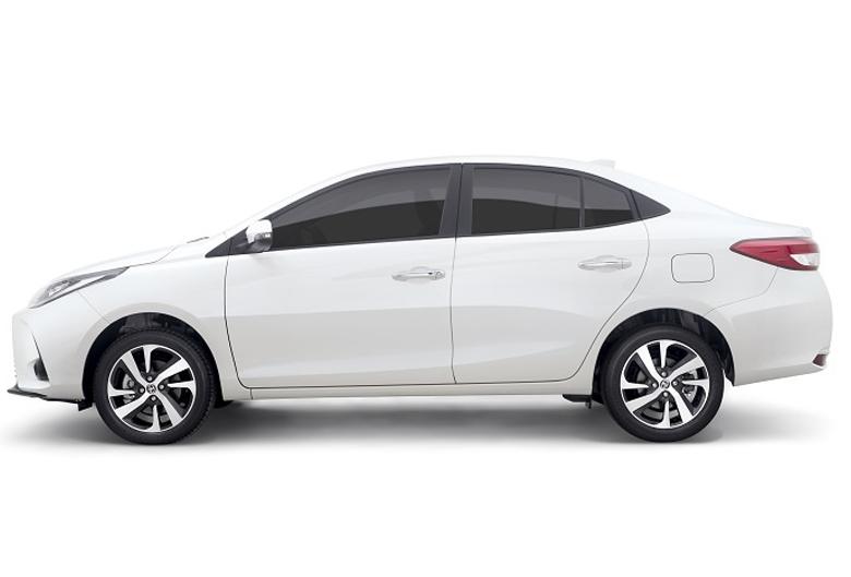 Thiết kế thân xe Toyota Vios 2021