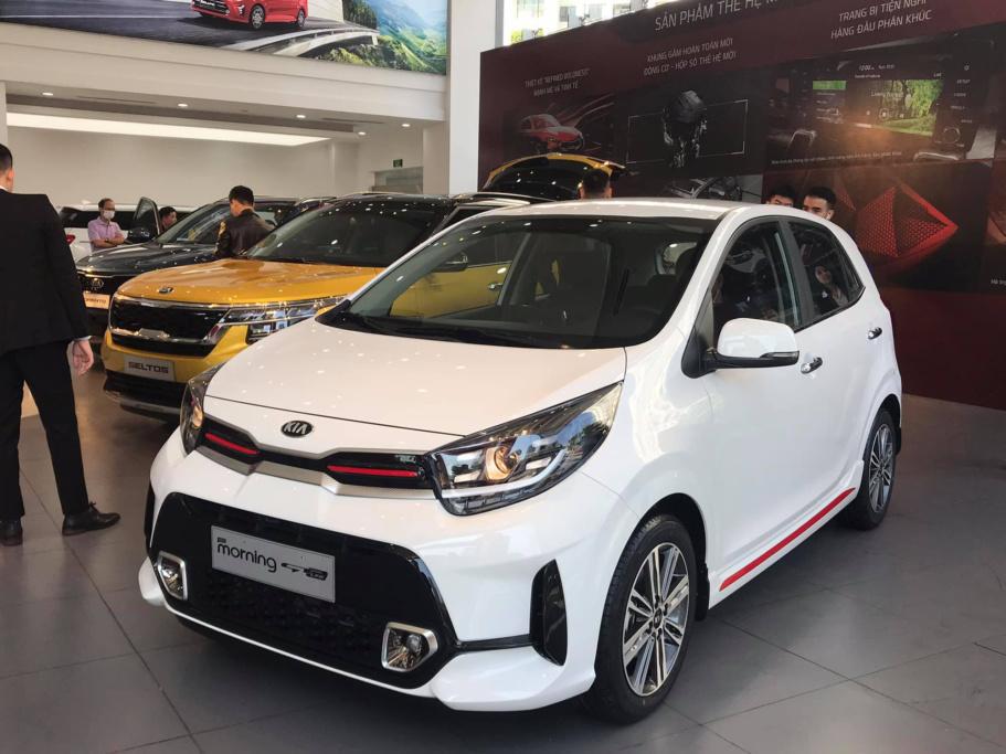 Kia Morning 2021 ra mắt phiên bản mới tại Việt Nam, giá 439 triệu đồng cạnh tranh VinFast Fadil, i10 - 1