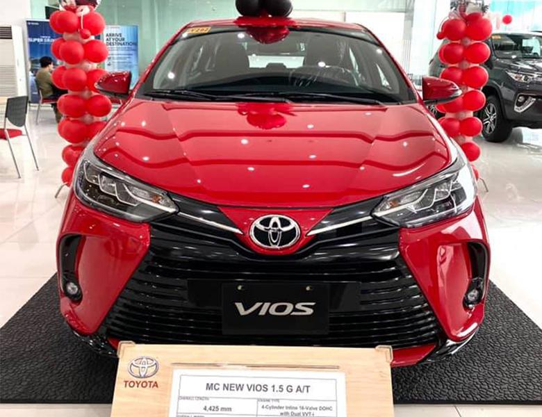 Đã có đại lý giới thiệu bản nâng cấp Toyota Vios 2021