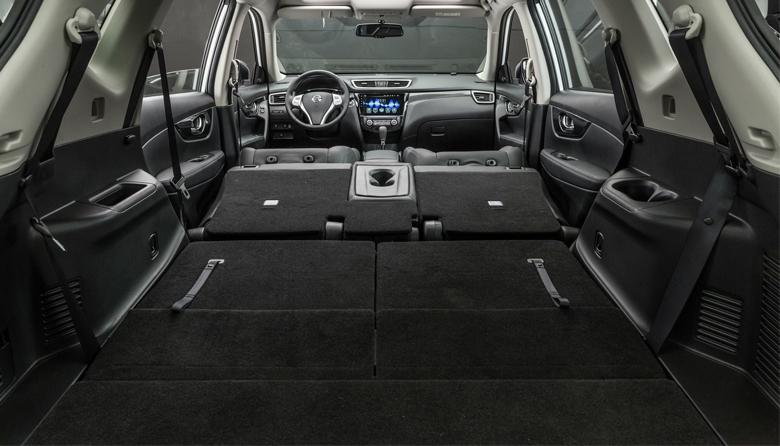 Khoang hành lý Nissan X-Trail
