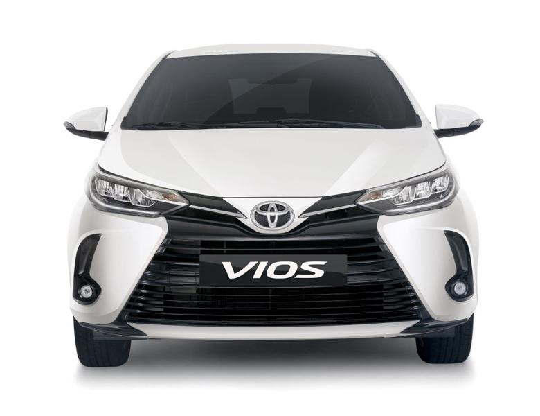 Thiết kế đầu xe Toyota Vios 2021